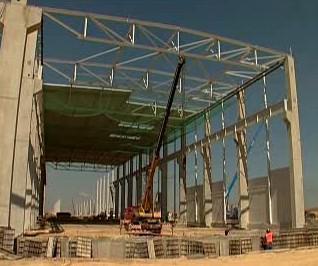 Stavba výrobní haly
