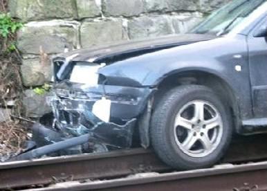 Nehoda v Benešově