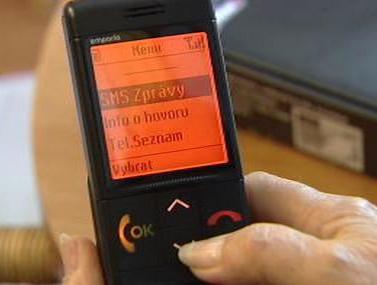 Speciální mobil pro seniory