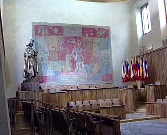 Velká aula Karlovy univerzity