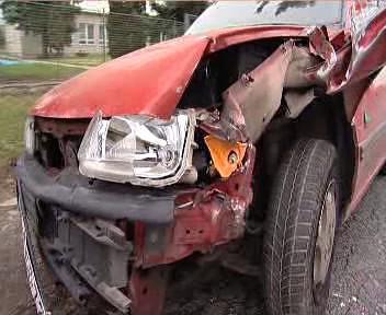 Nabourané osobní auto