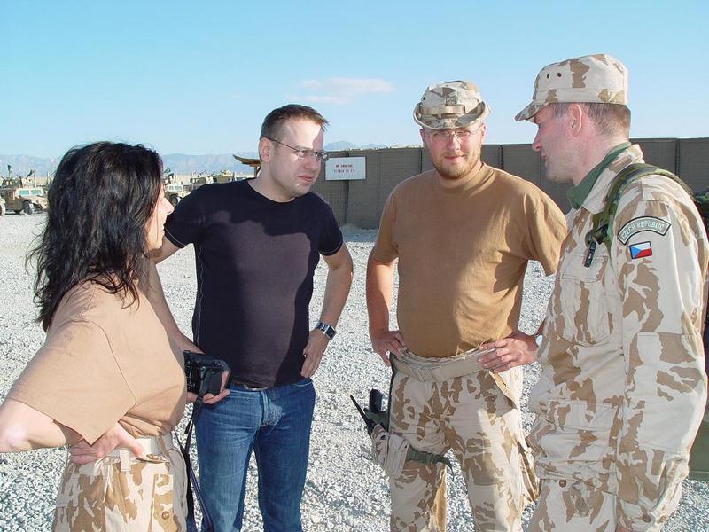 Otázky Václava Moravce z Afghánistánu