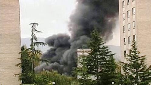 Výbuch bomby