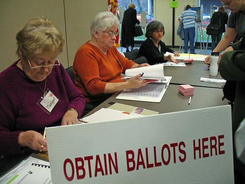 Hlasování ve Spojených státech