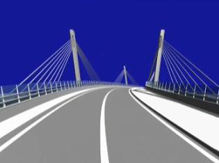 Plán nového skřečoňského mostu