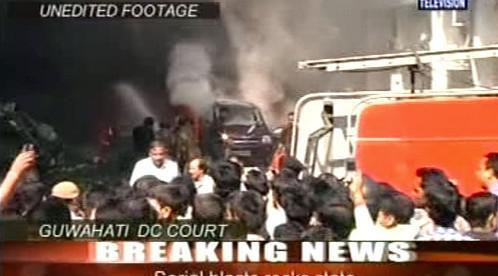 Výbuch v Indii