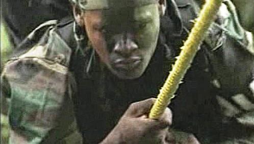 Kolumbijský voják