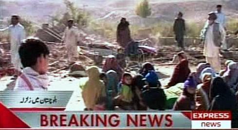 Zemětřesení v Pákistánu
