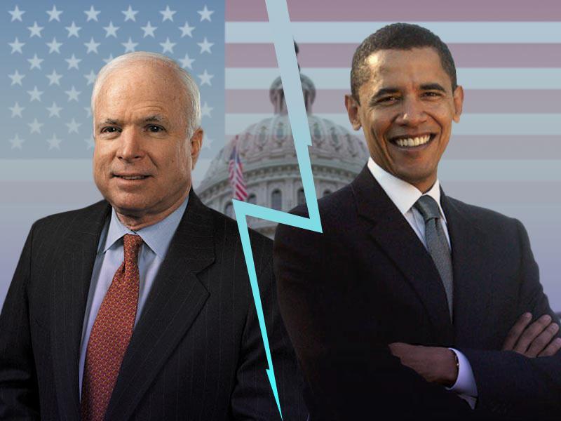 McCain a Obama