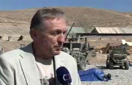 Mirek Topolánek v Afghánistánu