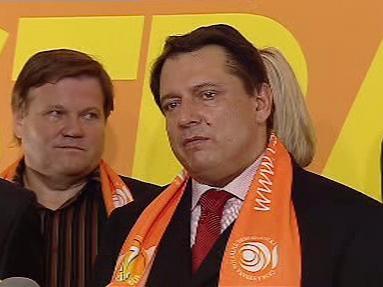 Jiří Paroubek a Zdeněk Škromach