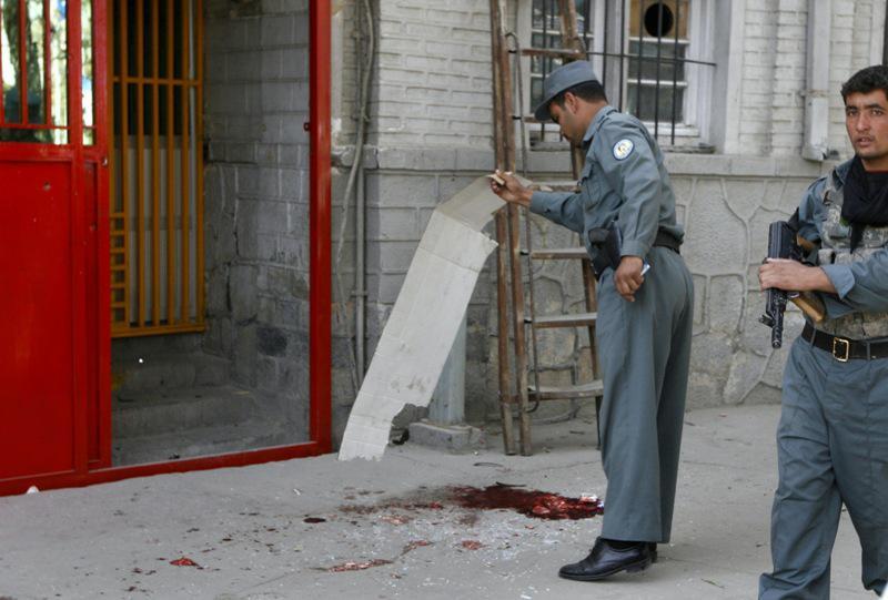 Přestřelka v Afghánistánu