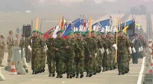 Vojenská přehlídka Armády ČR