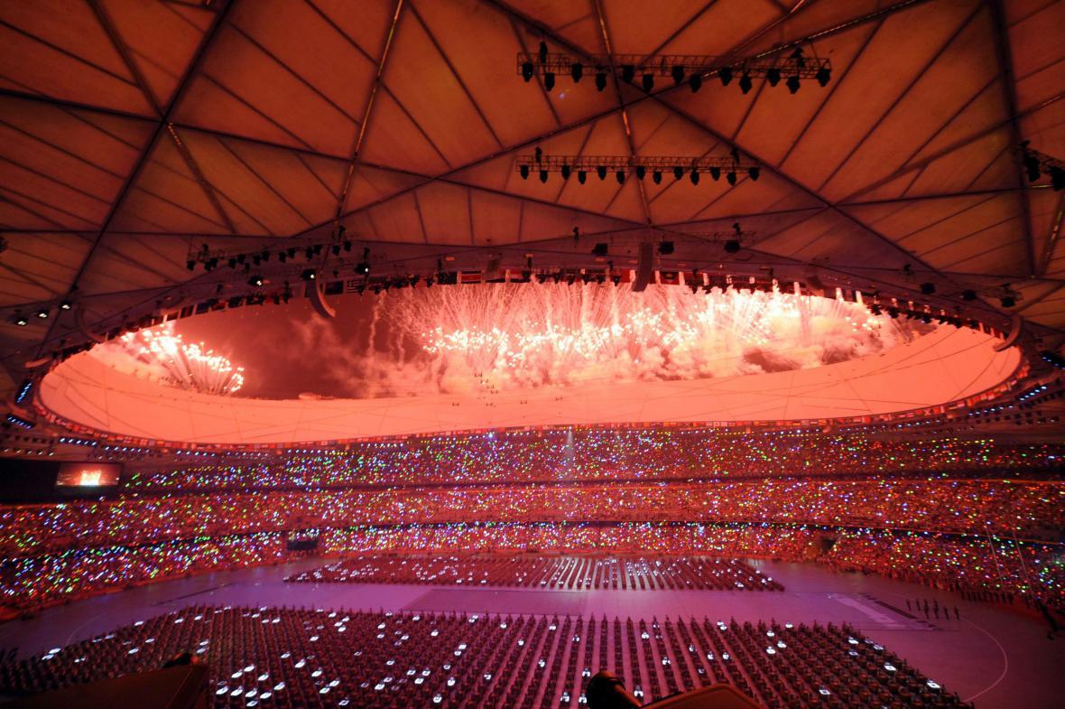 Zahájení olympijských her v Pekingu