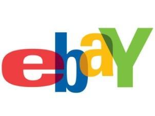 Logo internetové aukce eBay