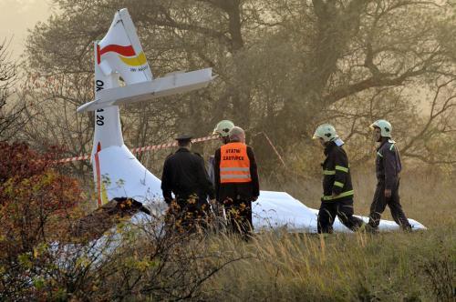 Nehoda ultralehkého letadla