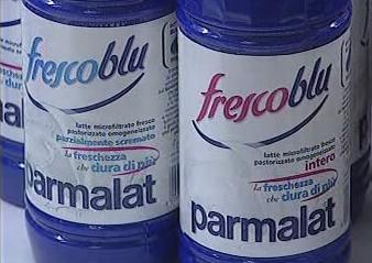 Mléko italské společnosti Parmalat