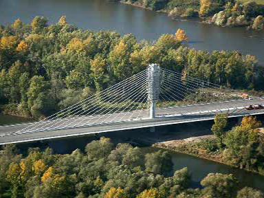 Most přes řeku Odru na dálnici D47