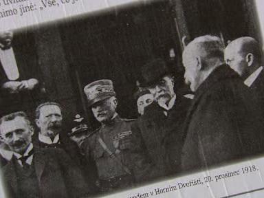 Vznik Československa slovem i obrazem