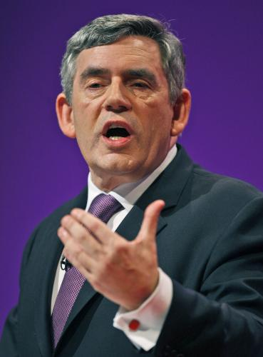 Britský premiér Gordon Brown