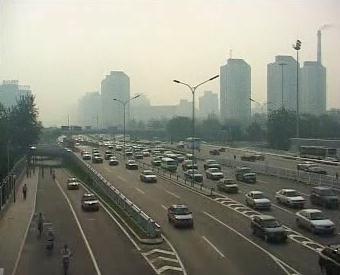 Znečištěný Peking