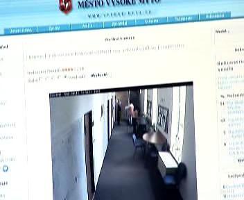 Záběry webové kamery