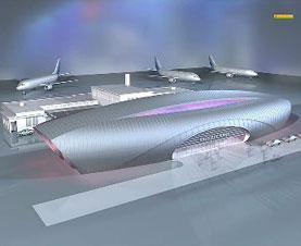 Virtuální maketa letiště
