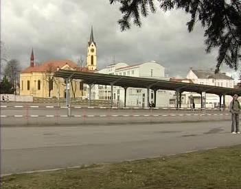 Autobusové nádraží v Milevsku