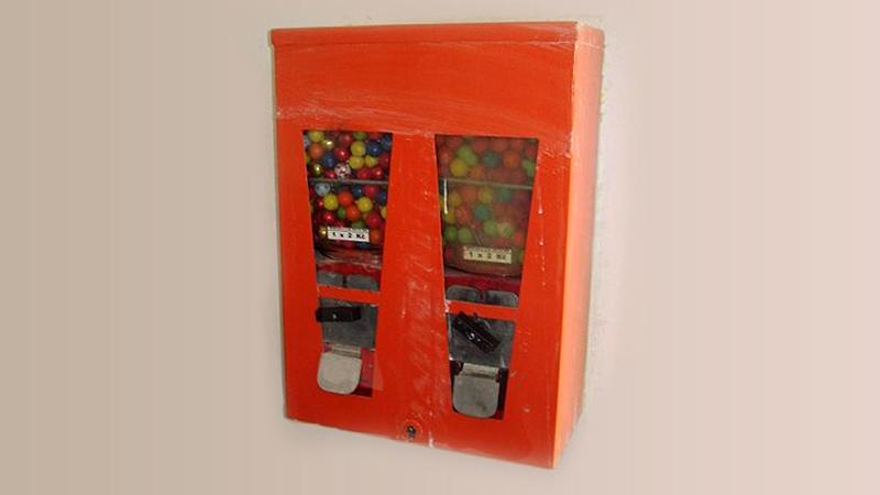 Automat na žvýkačky