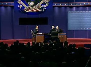 Třetí televizní duel mezi Obamou a McCainem