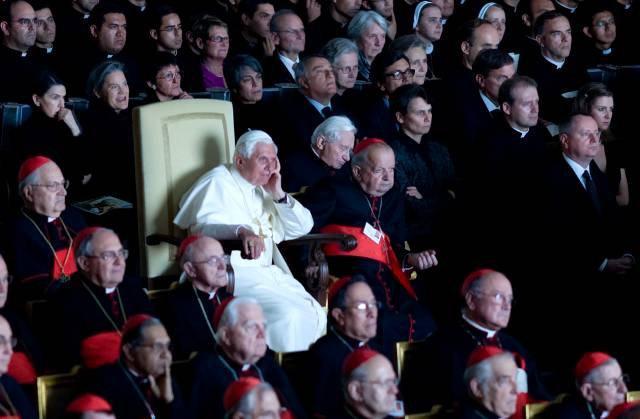 Promítání Svědectí ve Vatikáně