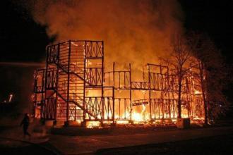 Požár divadla Globe