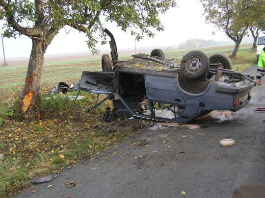 Nehoda Škody 120
