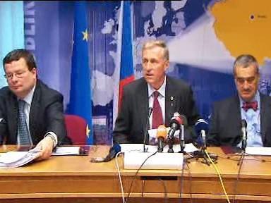 Česká delegace po summitu EU
