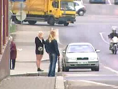 Situace v ulicích Chomutova