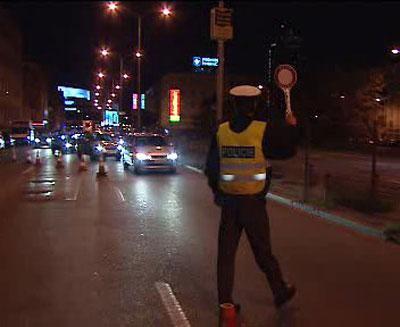 Noční dopravní akce