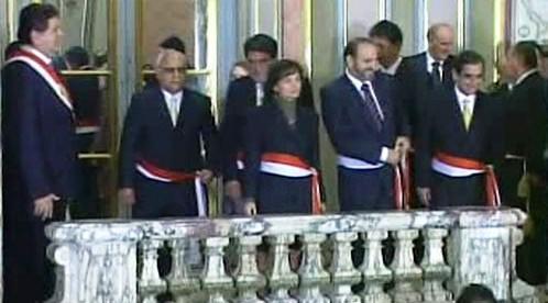 Jmenování peruánské vlády