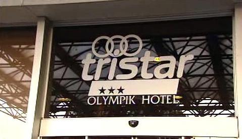 Logo hotelu Olympik