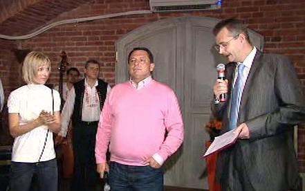 Jiří Paroubek na křtu své knihy