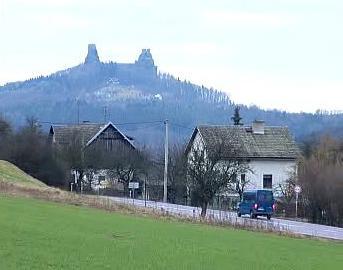 Jedna z obcí v Českém ráji