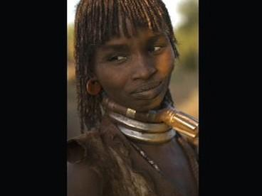 Portrét Etiopana