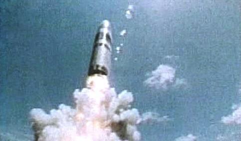 Test balistické rakety