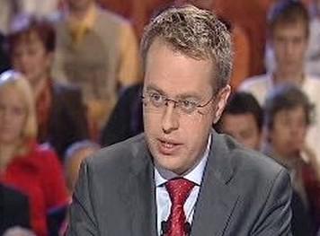 Moderátor diskuze Václav Morevec