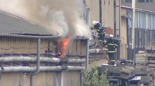 Požár v Prešově