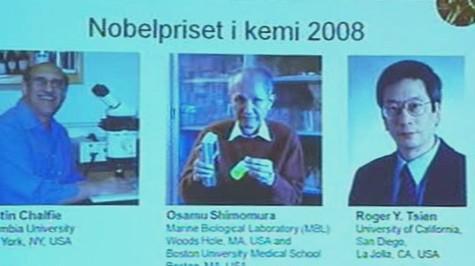 Vědci ocenění Nobelovou cenou za chemii