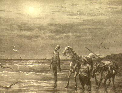 Rytina Gustava Doré k českému vydání Dona Quijota