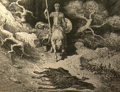 Rytina Gustava Doré k českému vydání Dona Quijota č.2