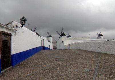 Mlýny v La Mancha
