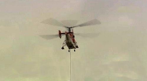 Vrtulník pro transport těžkých nákladů