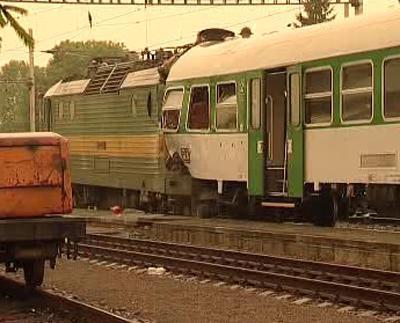 Srážka lokomotivy a osobního vlaku